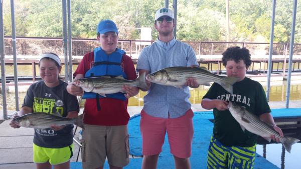 Lake Texoma Sand Bass and Striper