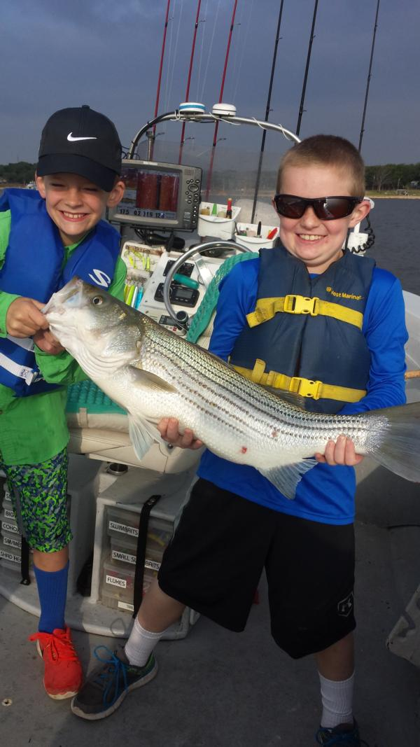 Summer Striper Fishing 2016 Lake Texoma