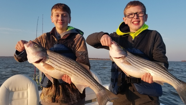 Lake Texoma Early Spring Report 2018