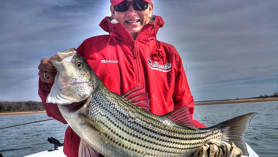Striper Fishing Lake Texoma