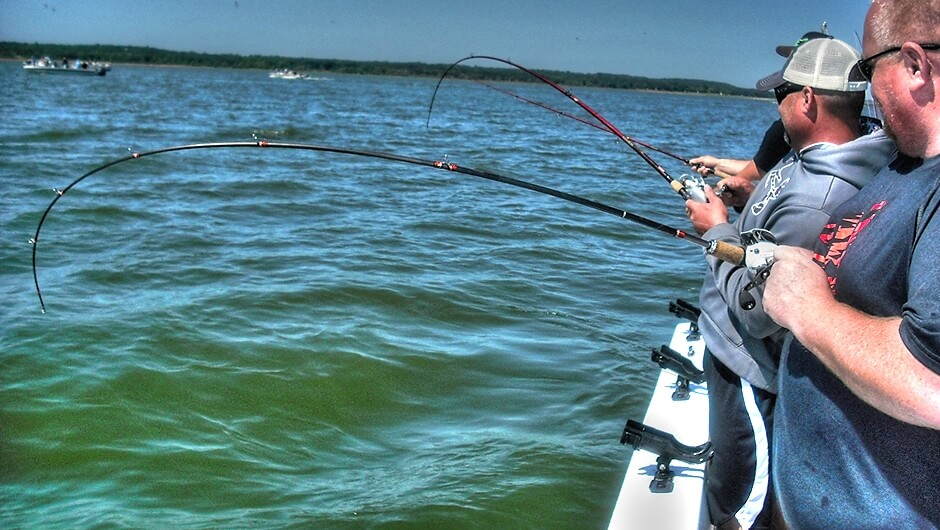 Striper Fishing Guide Lake Texoma