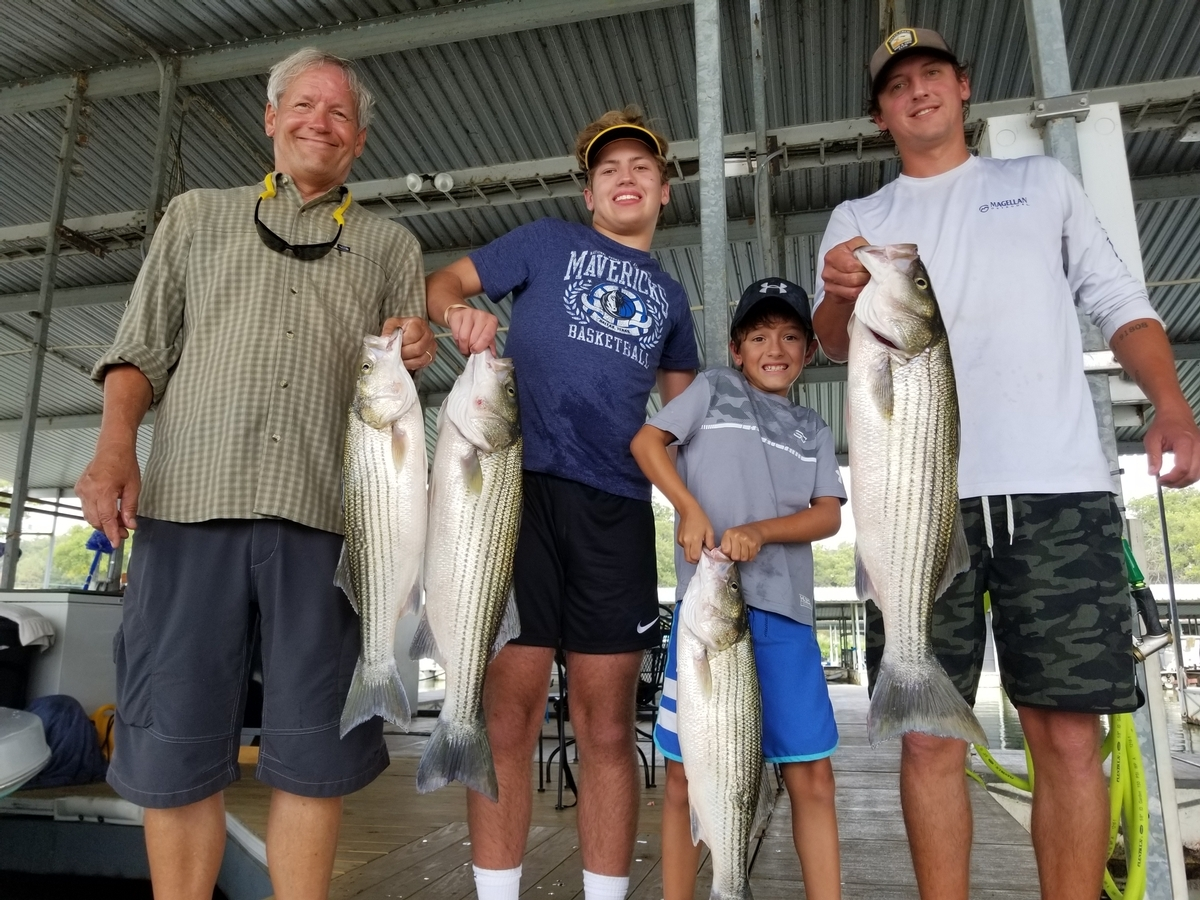 Lake Texoma Fishing Guide Stephen Andre