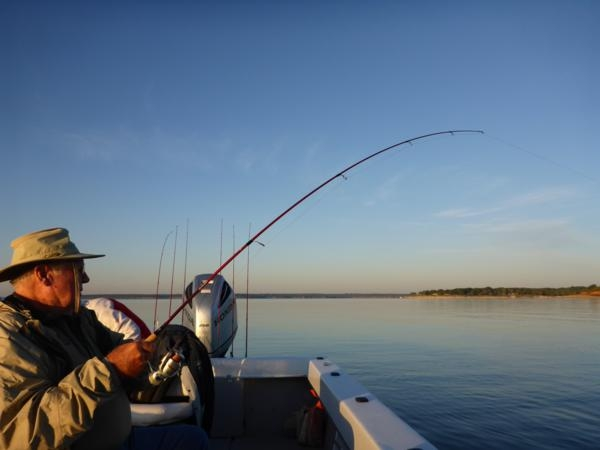 Fishing Guide on Lake Texoma